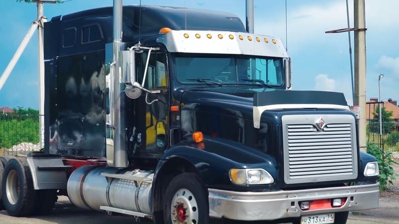 ЧТО В КАБИНЕ Грузовик INTERNATIONAL 9200 - ВТОРАЯ ЖИЗНЬ! Американский грузовик изнутри.
