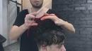 How to cut curly hair men's undercut tutorial