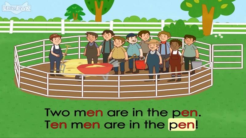 Word Families_ Hen in the Pen » Freewka.com - Смотреть онлайн в хорощем качестве