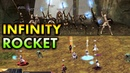 ROCKET TEAM vs INFINITY SQUAD LEGENDARY BATTLE Lineage 2 Classic