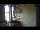 Пос шахты Изотова под Горловкой после украинского обстрела