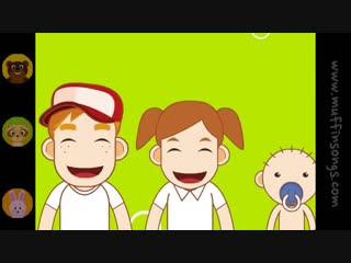 The Finger Family (Daddy Finger) - Original Version - Family Sing Along - Muffin Songs