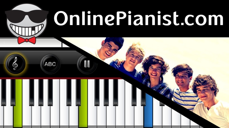 One Direction - What Makes You Beautiful - Piano Tutorial