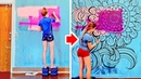 HOW TO TURN WALLS INTO REAL WORKS OF ART