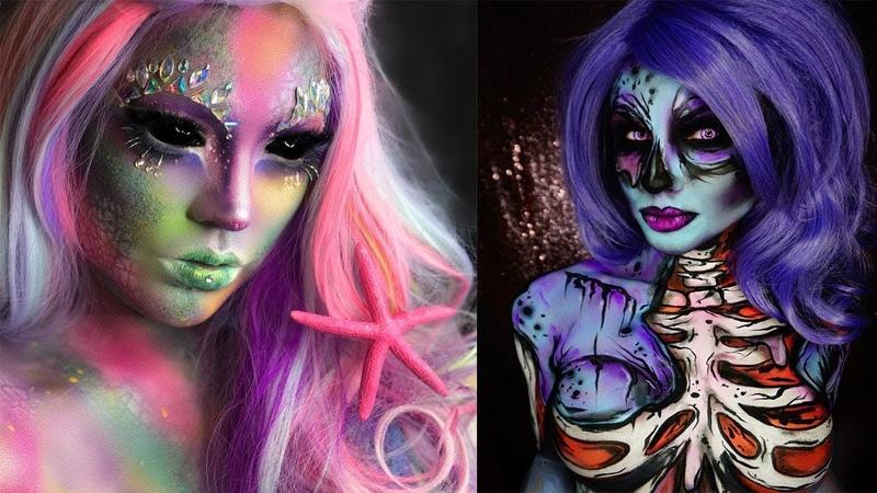 Готовимся к ХЭЛЛОУИНУ КАК НАКРАСИТЬСЯ НА ХЭЛЛОУИН ИДЕИ 16 Грим на хэллоуин хэллоуин хэллоунинмакияж макияжнахеллоуин жуткиймакияж макияжжесть макияждляхэллоуина гримнахэллоуин