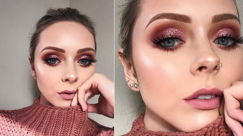 ROMANTIC VALENTINES DAY LOOK | Full Coverage Slo Mo