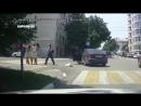 Разногласия на пешеходном переходе С ума сойти