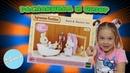 Распаковка и обзор Sylvanian Families Сельвании Фемели набор Ванная комната мини 3562