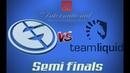 EG vs Liquid SEMI FINALS DOTA 2 The International 2018 TI8 Theinternational2018