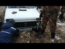 ГАЗ 69, помогал вытащить ниву но застрял сам.