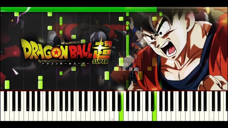 Dragon Ball Super - Opening 2 - Limit-Break x Survivor (Piano TUTORIAL SHEETS) [Max AnimePianist]