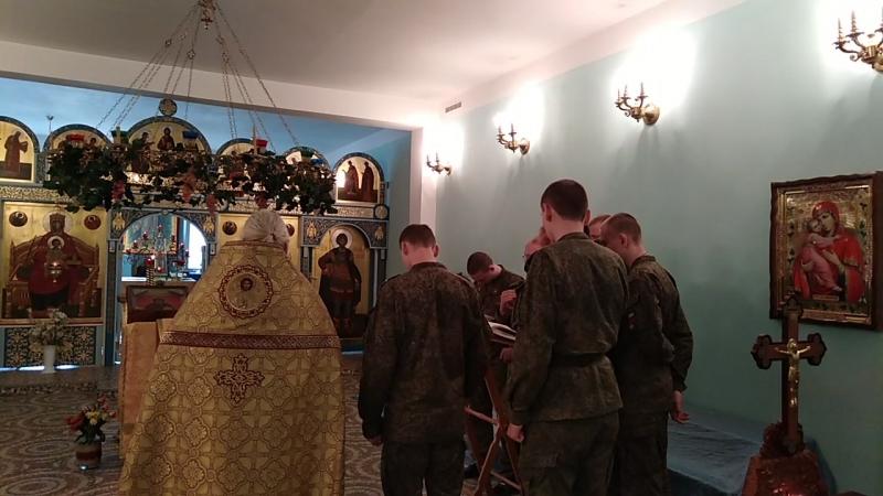 Служба в Храме Инженерных войск