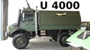 U4000 Mercedes-Benz UNIMOG Heer - Army