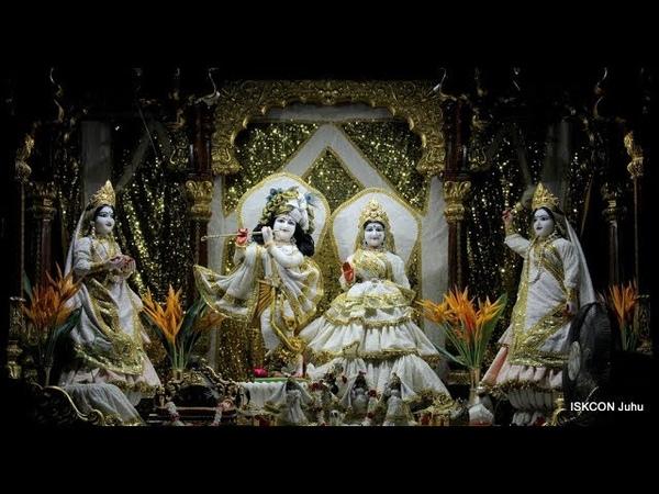 Mangal Arati Darshan Sri Sri Radha Rasbihari Temple 16th Sep 2018 Live from ISKCON Juhu, Mumbai