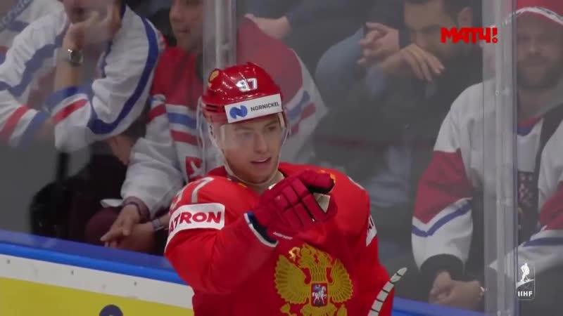 13 05 2019 Россия Чехия 3 0 Все голы ЧМ 2019