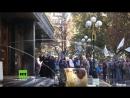 Kiew Rechtsradikale wüten gegen Auslieferung von mutmaßlichem IS Kollaborateur nach Russland