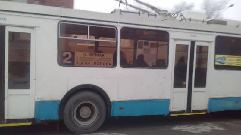 146 троллейбус омск