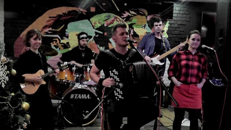 КиР'Юша band в пабе Ирландец (г. Подольск 07/12/2018)