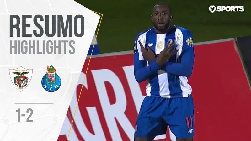 Highlights | Resumo Santa Clara 1-2 FC Porto (Liga 1819 13)