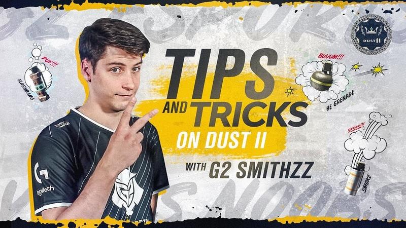 G2 SmithZz - CSGO Utility on Dust II   Tips and Tricks