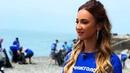 Бузова собирает бутылки на пляже в Сочи