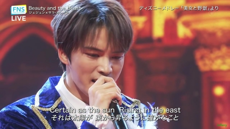 "[EN Sub] 25.07.2018 Kim Jaejoong _Beauty and the Beast ""FNS Summer Song Festival"""