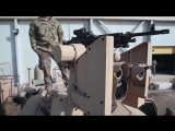 Ultimate Military Defense Weapons - Common Remotely Operated Weapon Station Machine Gun in Action