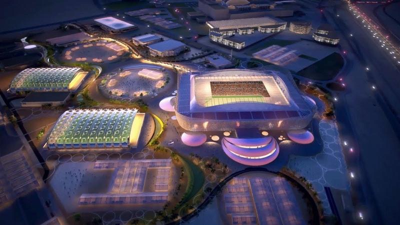 Проект стадиона Аль Райян к ЧМ 2022 г Ар Райян Катар