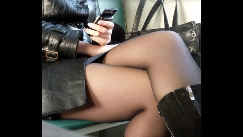 Girls in stockings and pantyhose Девушки в чулках и колготках 389