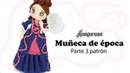 Amigurumi muñeca de época, parte 3/5 patrón gratis