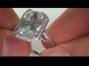 Desperate Housewife Sells her prized Aquamarine Diamond Cocktail Ring