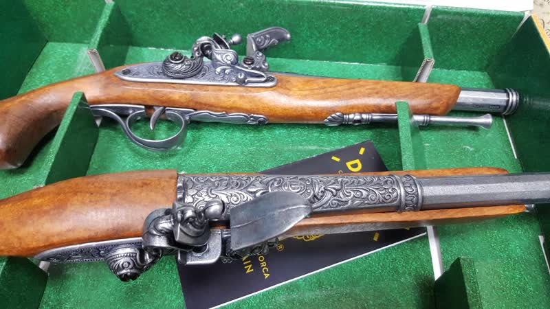 Пистоли дуэльные 18 века, L=39,5 см