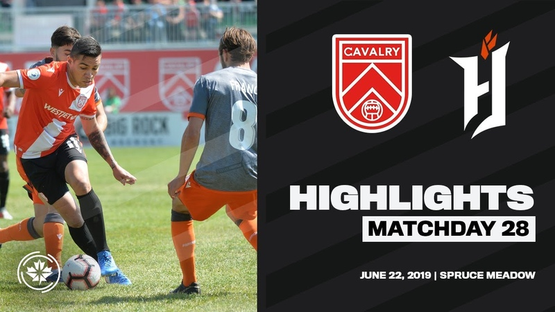 HIGHLIGHTS | Cavalry FC vs Forge FC [Match 28, June 22]
