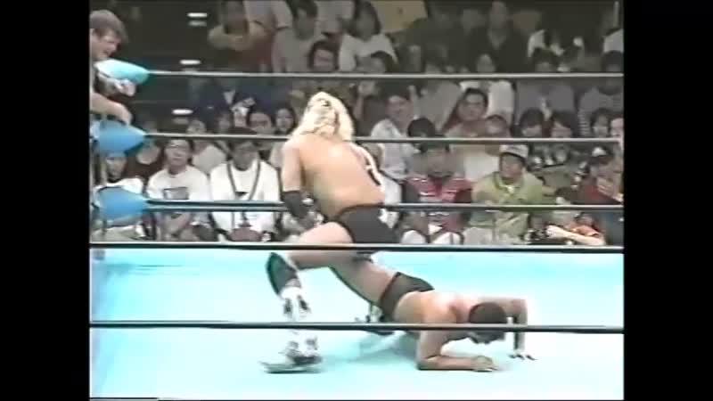1996.06.29 - Stan Hansen/Bobby Duncum Jr. vs. Akira Taue/Takao Omori [JIP]