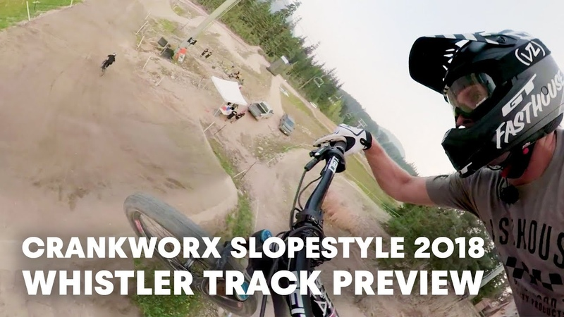 MTB Joyride Track Preview WithTyler McCaul And Anthony Messere. | Crankworx Whistler 2018