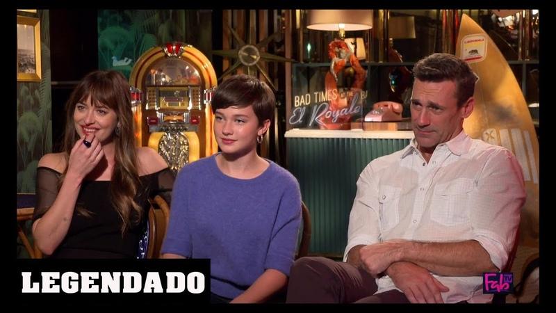 [LEGENDADO] Dakota Johnson, Cailee Spaeny e Jon Hamm - Fab TV