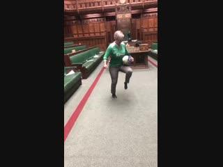 Футбол в британском Парламенте