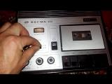 Магнитофон моего детства Весна 202 снова в строю.