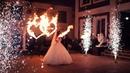 Двойное сердце и холодные фонтаны на свадьбу | Ростов | GOF show