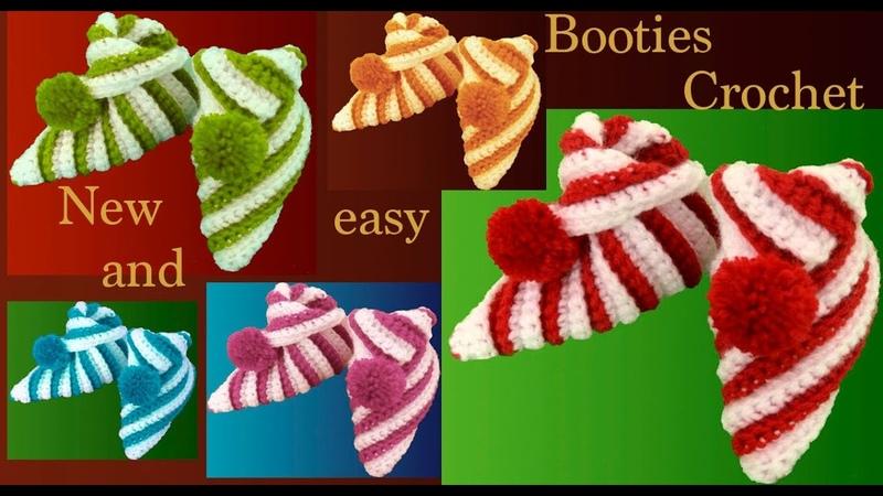 Zapatos pantuflas a Crochet de un cuadrado para bebes y tallas adultas regalos de Navidad tejido tal