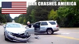 CAR CRASHES IN AMERICA #26 BAD DRIVERS USA, CANADA NORTH AMERICAN DRIVING FAILS