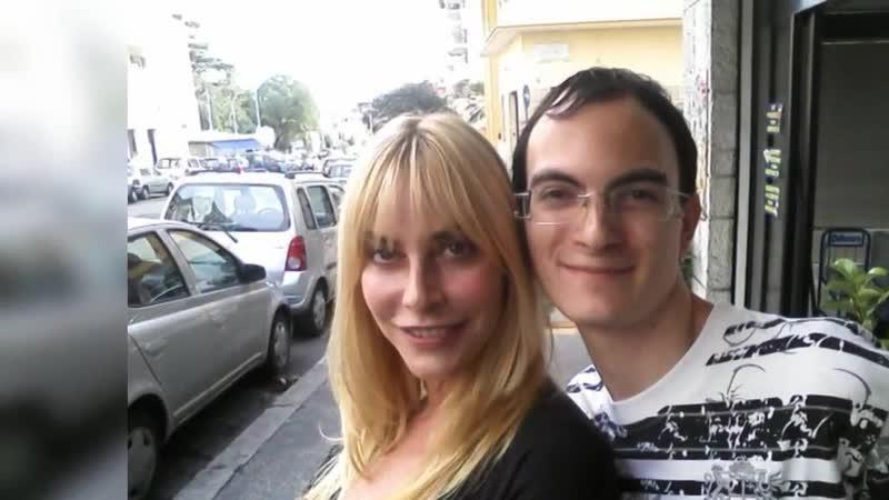 Io Leandro con Stefania Orlando nel 2009