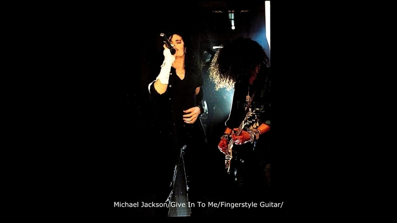 Michael JacksonGive In To MeFingerstyle Guitar