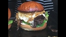 MONSTER BURGER - PULLED BEEF BURGER - GRILLED RACLETTE CHEESE - LONDON STREET FOOD