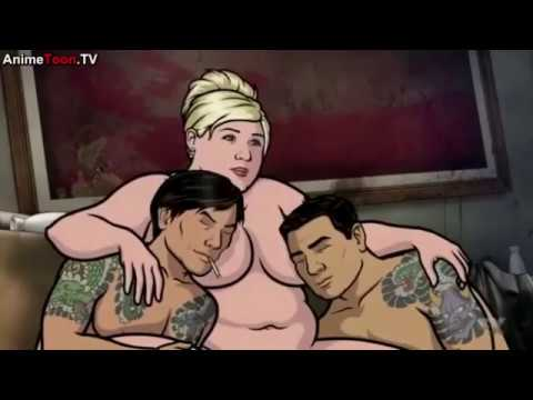 Archer: Friends with benefits (Pam the Yakuza)