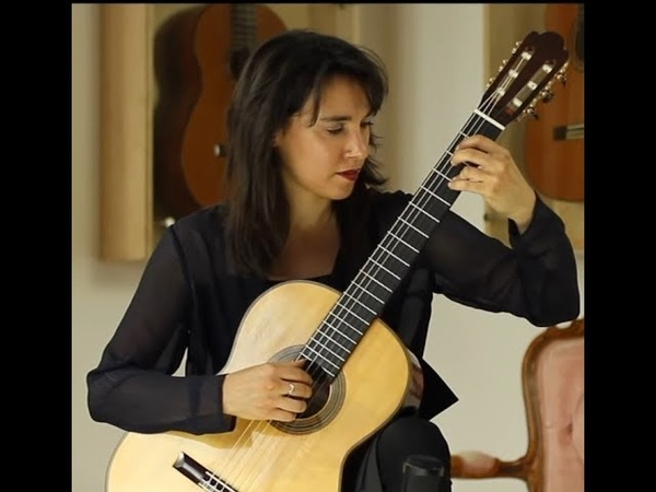 Daniela Rossi plays Etude No. 6 by Giulio Regondi on a 2015 Fritz Ober