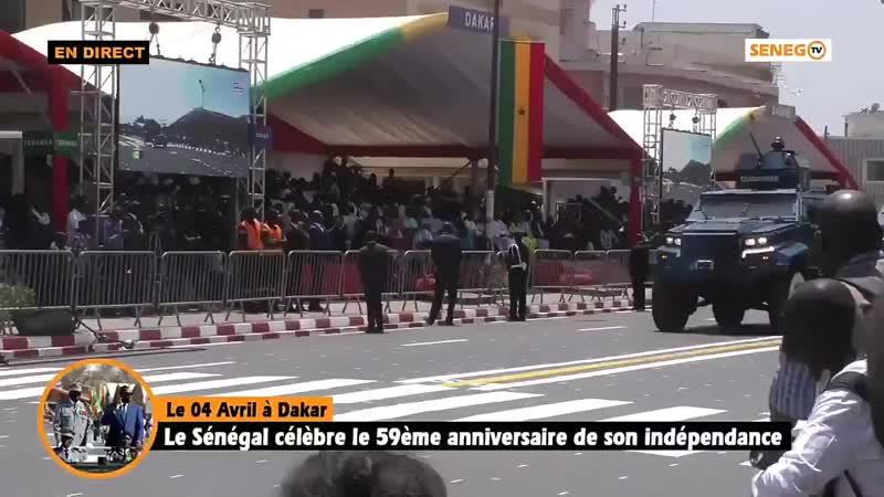 El ejército de Senegal desfila con vehículos blindados Ejder Yalcin hechos en Turquía..mp4