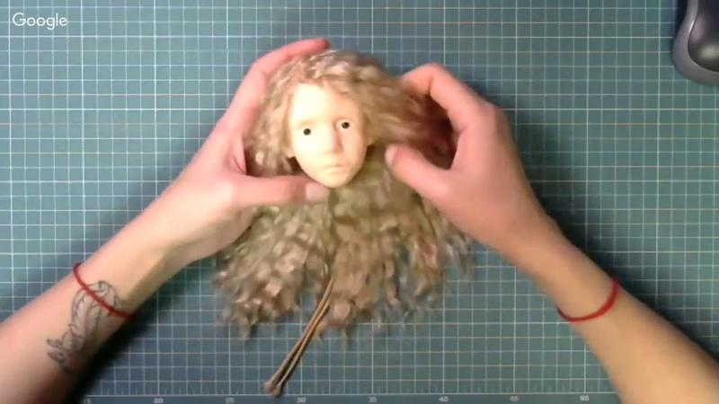 Наталия Матвеева 20 марта Шарнирное крепление головы Куклы