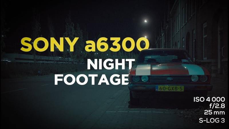 NIGHT FOOTAGE 4K- Sony a6300 Sigma Art 18-35