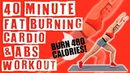 40 Minute Fat Burning Cardio and Abs Workout 🔥Burn 480 Calories!🔥